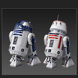 BANDAI - STAR WARS PLASTIC MODEL R2-D2 & R5-D4