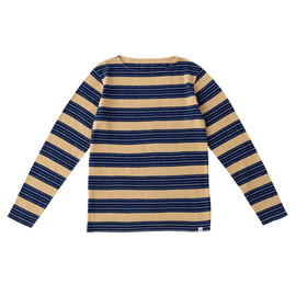 visvim - ANTIQUE BORDER BOAT-NECK L/S