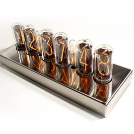 NIXIECLOCK.NET - CHRONOTRONIX IN-18 NIXIE CLOCK