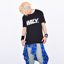 BUMP OF CHICKEN - BFLY Loose Fit TEE BLACK