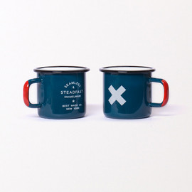 Best Made Company - Seamless & Steadfast Enamel Steel Cup - Blue