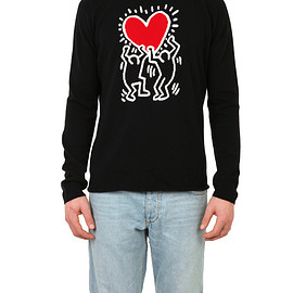 lucien pellat-finet - Cashmere Keith Haring Sweater