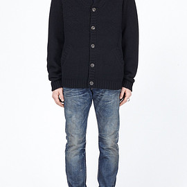 Saturdays Surf NYC - Clark Cardigan (Black)