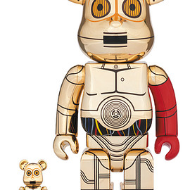 MEDICOM TOY - BE@RBRICK C-3PO(TM) THE FORCE AWAKENS Ver. 100% & 400%