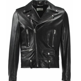 SAINT LAURENT PARIS - SAINT LAURENT L01 CLASSIC MOTORCYCLE JACKET