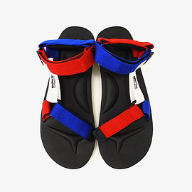 Mt.RAINIER DESIGN, SUICOKE - Mt.RAINIER DESIGN | MR41789 MTR・SUICOKE TRICOLORE STRAP SANDALS| ONE