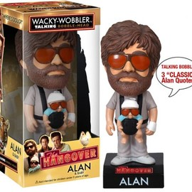 "Funko - Wacky Wobbler Talking ""Alan"" The Hangover"
