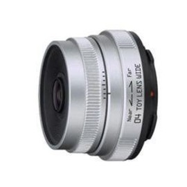 PENTAX - Pentax-04 TOY Lens Wide Silver for Pentax Q Mount