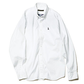 SOPHNET. - BACK PANELED BIG B.D SHIRT