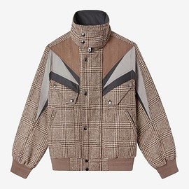 TEDDY VONRANSON - Jason Bomber Tweed Multi  –  Classic fit