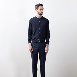 STILL BY HAND - Strech Slacks Taperd Trouser
