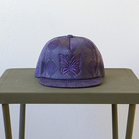 Needles - Trucker Cap - Poly Jacquard / Block - Charcoal/Purple