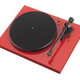 Pro-Ject - Debut III Turntable In Red with Ortofon OM-5 Cartridge