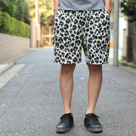 VOO - leopard bush shorts