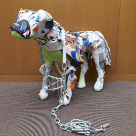 NIKE, Vinti Andrews - Patchwork Dog Doll