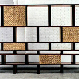 Charlotte Perriand - Jaracanda Wood, 1961, uunique piece made for a collector in Rio, Brazil
