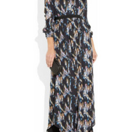 Theyskens' Theory - Printed silk maxi dress