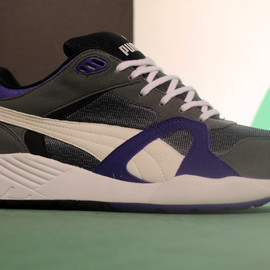 Puma - Compression 500 - Dark Grey/Purple/White