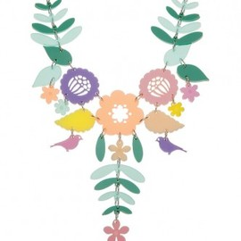Tatty Devine - Mexican Embroidery Necklace