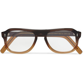 Cutler and Gross - Square-Frame Ombre Acetate Optical Glasses