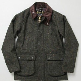 International Gallery BEAMS - BARBOUR×International Gallery BEAMS / SL BEDALE  MOLOY&SONS FABRIC エクスクルーシブ