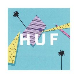 HUF - 1986 BOX LOGO STICKER