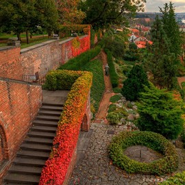 Czech - Gardens in the Prague Castle