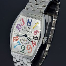"FRANCK MULLER - Franck Muller, ""Crazy Hour Colour Dreams"" automatic Ref. 5850CH in Steel"