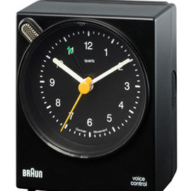 BRAUN - BNC004 Voice Controlled Clock