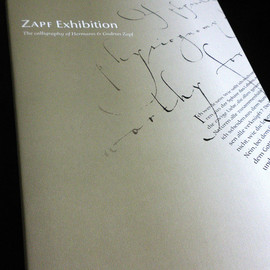 Hermann & Gudrun Zapf - Zapf Exhibition Catalog