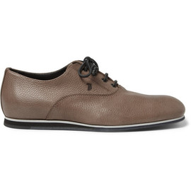 Tod's No_Code - Rubber-Sole Full-Grain Leather Oxford Shoes