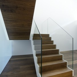 Barcode Architects - Stairs at Markthuis Private Home, Belgium