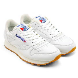 Reebok - Reebok CLASSIC LEATHER VINTAGE【リーボック クラシックレザー ヴィンテージ】WHITE