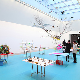 gerda steiner & jörg lenzlinger - nursery, art tower mito, japan, 2012
