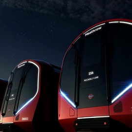 London - New Tube designed by PriestmanGoode
