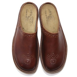 McKINLAYS - Comfort Sole Shoe Jake,Brown Smooth Leather