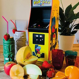 Numskull - Official Pac-Man Quarter Size Arcade Cabinet