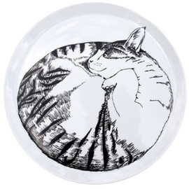 jimbobart - Sleeping Cat plate