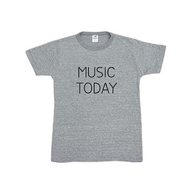 Noritake - MUSIC TODAY Tシャツ(gray)