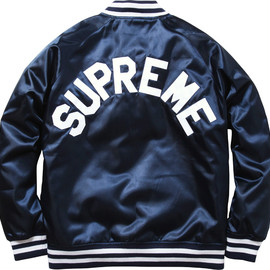 Supreme - Supreme / Champion Satin Jacket