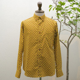 m's braque - button down shirts yellow