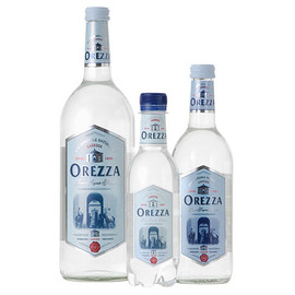 "Orezza - Corsican sparkling water ""The champagne of water"""