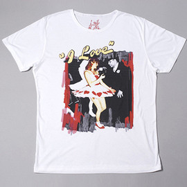 inspired - Inspired by Jill Furmanovsky Tees - 'I Love 2 (dancing)'