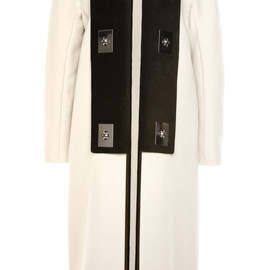 PROENZA SCHOULER - SS2014 Bonded Suiting Coat With Turnlocks