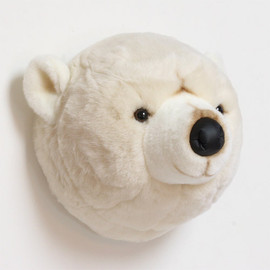 BiBiB&Co - ANIMAL HEAD POLAR BEAR
