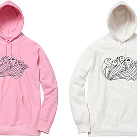 Supreme, Daniel Johnston - Logo Hooded Sweatshirt