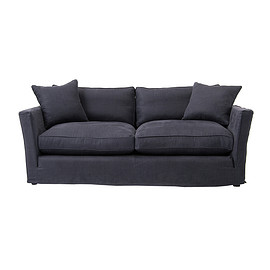 THE CONRAN SHOP - WARDOUR 3 SEATER SOFA / LIBECO ROMA MARINE P336-0383