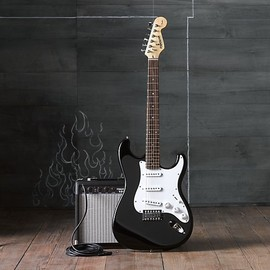 Fender - 子供用Starcaster® by Fender® Stratelectric Guitar