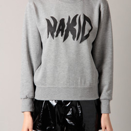 NAKID by G.V.G.V - LOGO SWEAT