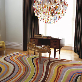Paul-Smith - Colorful-Rug-Paul-Smith-Swirl